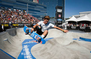 Pedro Barros at the 2012 X Games.