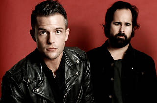 Brandon Flowers and Ronnie Vannucci Jr of The Killers
