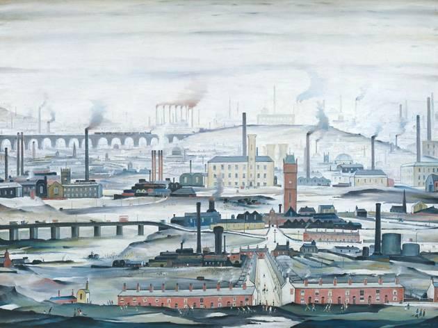 'Industrial Landscape', 1955