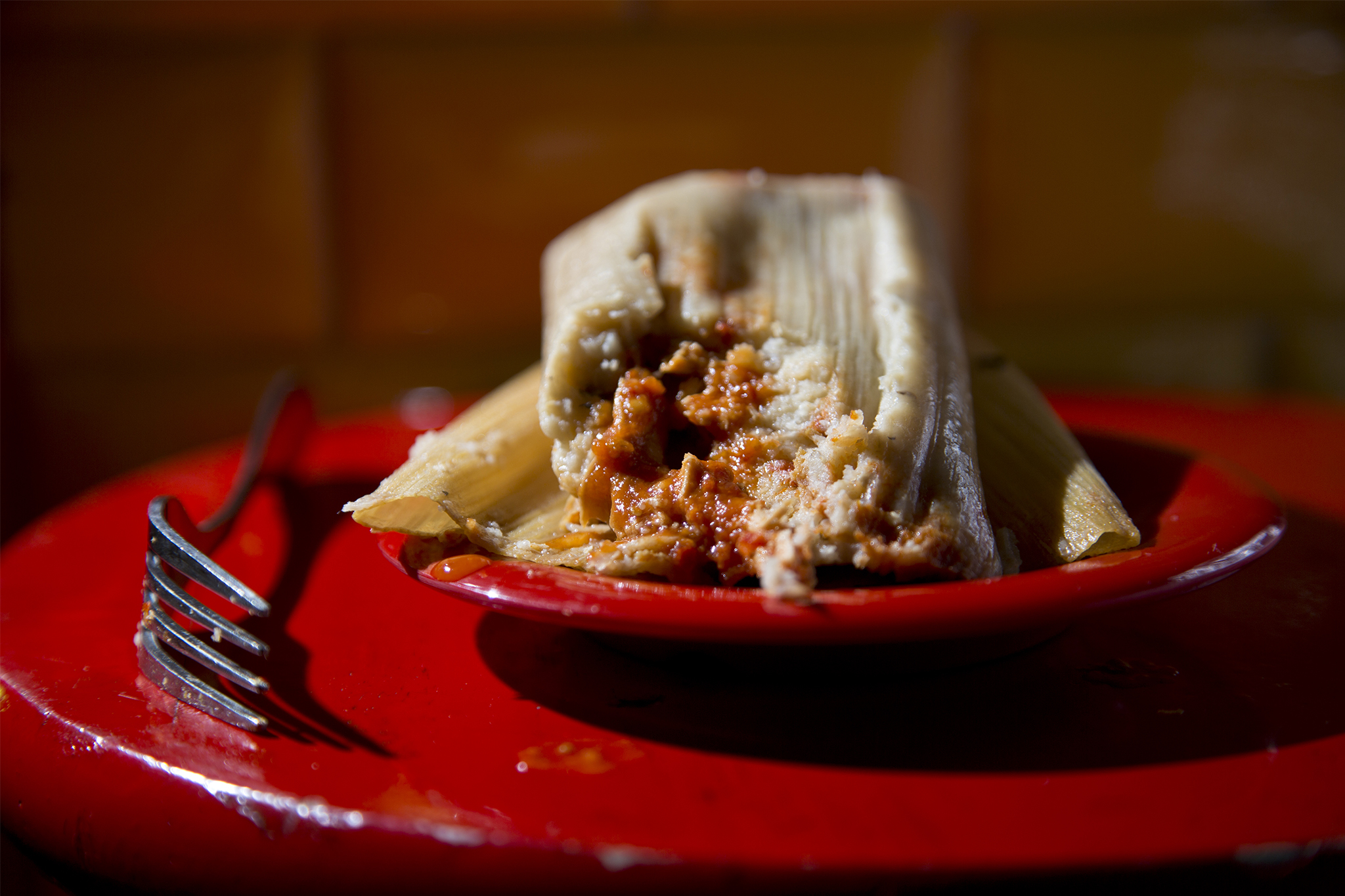 Chipotle Tamale at Tortilleria Nixtamal