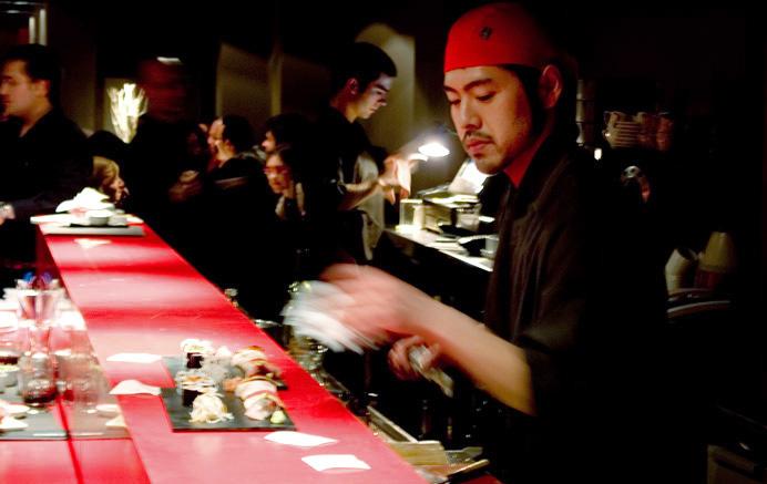 Nomo restaurant sushi