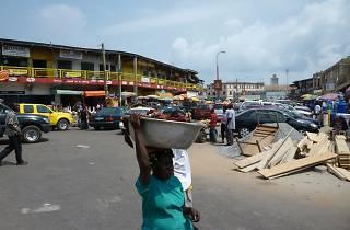 Market Circle, Takoradi, Ghana