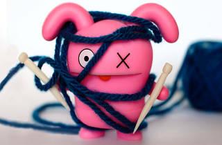 Cineknitting: ¡con licencia para tricotar!