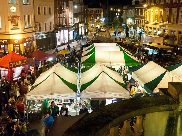 The StockMKT Night Market