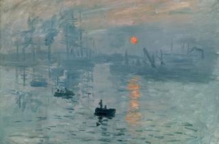 (Claude Monet, 'Impression soleil levant' (huile sur toile), 1872 / © Musée Marmottan-Monet, Paris / Service de presse / The Bridgeman Art Library )
