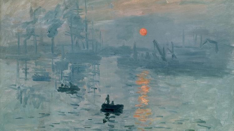 Claude Monet, 'Impression soleil levant' (huile sur toile), 1872 / © Musée Marmottan-Monet, Paris / Service de presse / The Bridgeman Art Library
