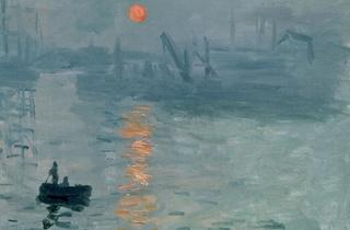 (Claude Monet, 'Impression soleil levant' (détail), 1872 / © Musée Marmottan-Monet, Paris / Service de presse / The Bridgeman Art Library )