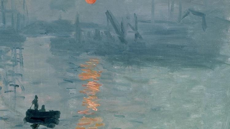 Claude Monet, 'Impression soleil levant' (détail), 1872 / © Musée Marmottan-Monet, Paris / Service de presse / The Bridgeman Art Library