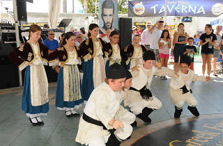 Dance performance at LA Greek Fest.