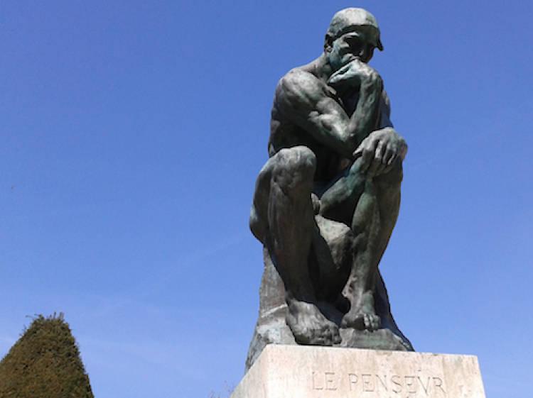 'Le Penseur' – Auguste Rodin (1904)
