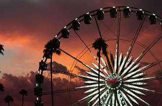 Ferris wheel at LA County Fair.