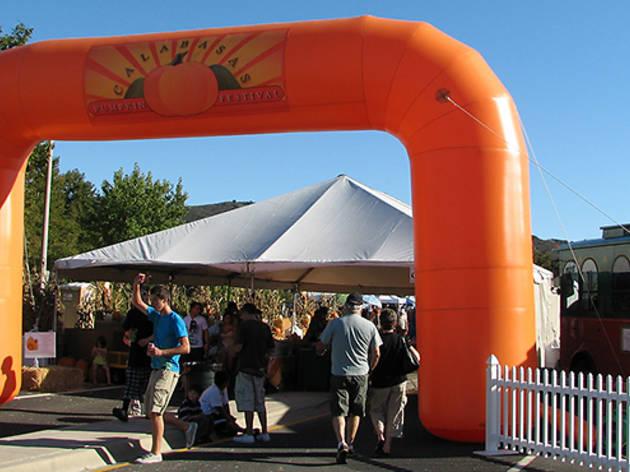 Calabasas Pumpkin Festival.