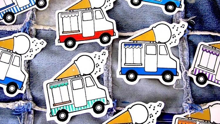 glaces paris ice food truck