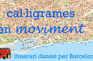 Grec 2013: Cal·ligrames en moviment. A dance tour of Barcelona