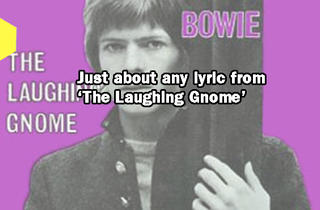 From 'The Laughing Gnome' 1967