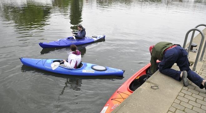 Un tour en kayak sur le canal