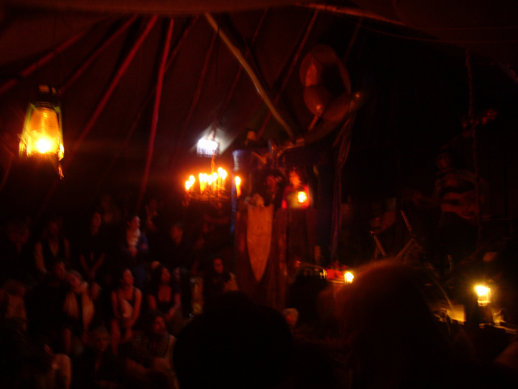 Underground Piano Bar, Glastonbury Festival