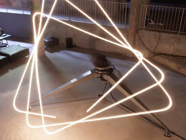Exposition 'ADA' (Conrad Shawcross, 'ADA', 2013 / Photo : © Aurélien Mole)