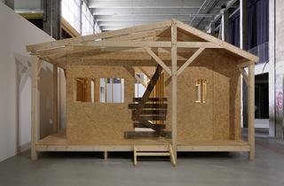 Exposition 'Catalan Pavilion' (Martí Anson, 'Catalan Pavilion. Anonymous architect', 2013 / Photo : © André Morin)