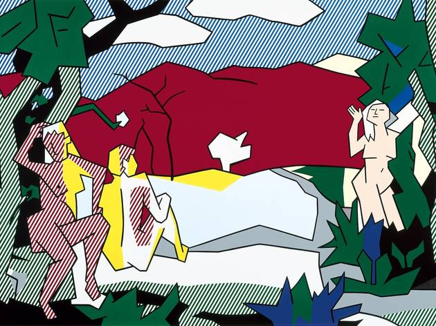 ('The White Tree', 1980 / © Estate of Roy Lichtenstein)