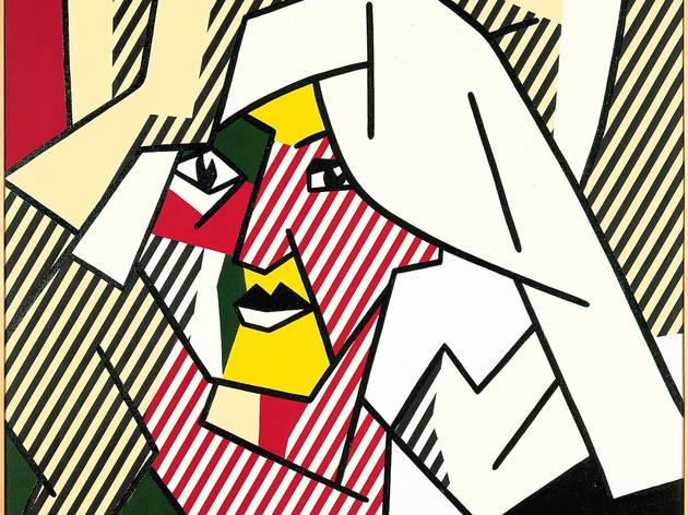 ('Woman Drying Her Hair', 1980 / © Estate of Roy Lichtenstein)