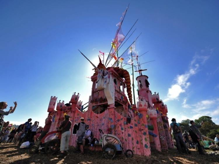 Glastonbury Festival in pictures