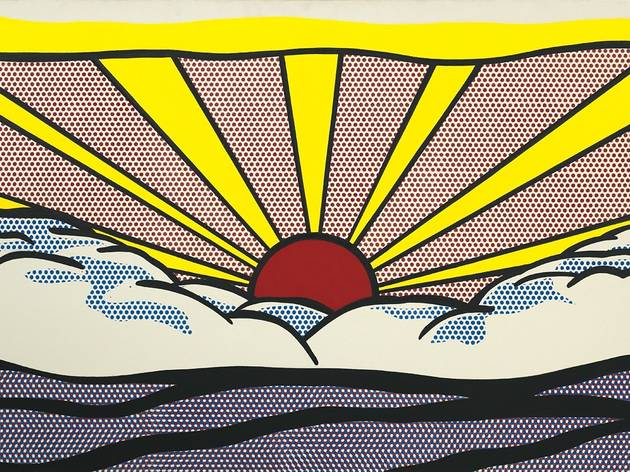 (Roy Lichtenstein, 'Sunrise', 1965 / © Estate of Roy Lichtenstein, New York / ADAGP, Paris, 2013)