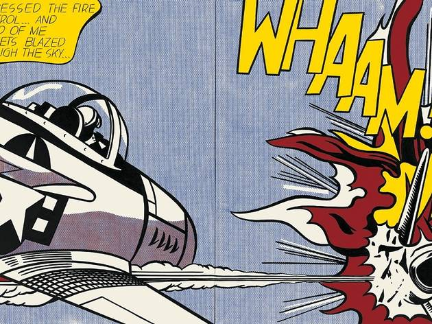 (Roy Lichtenstein, 'Whaam!', 1963 / © Estate of Roy Lichtenstein, New York / ADAGP, Paris, 2013)