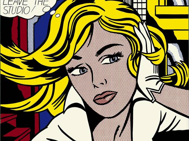(Roy Lichtenstein, 'M-Maybe', 1965 / © Estate of Roy Lichtenstein, New York / ADAGP, Paris, 2013)
