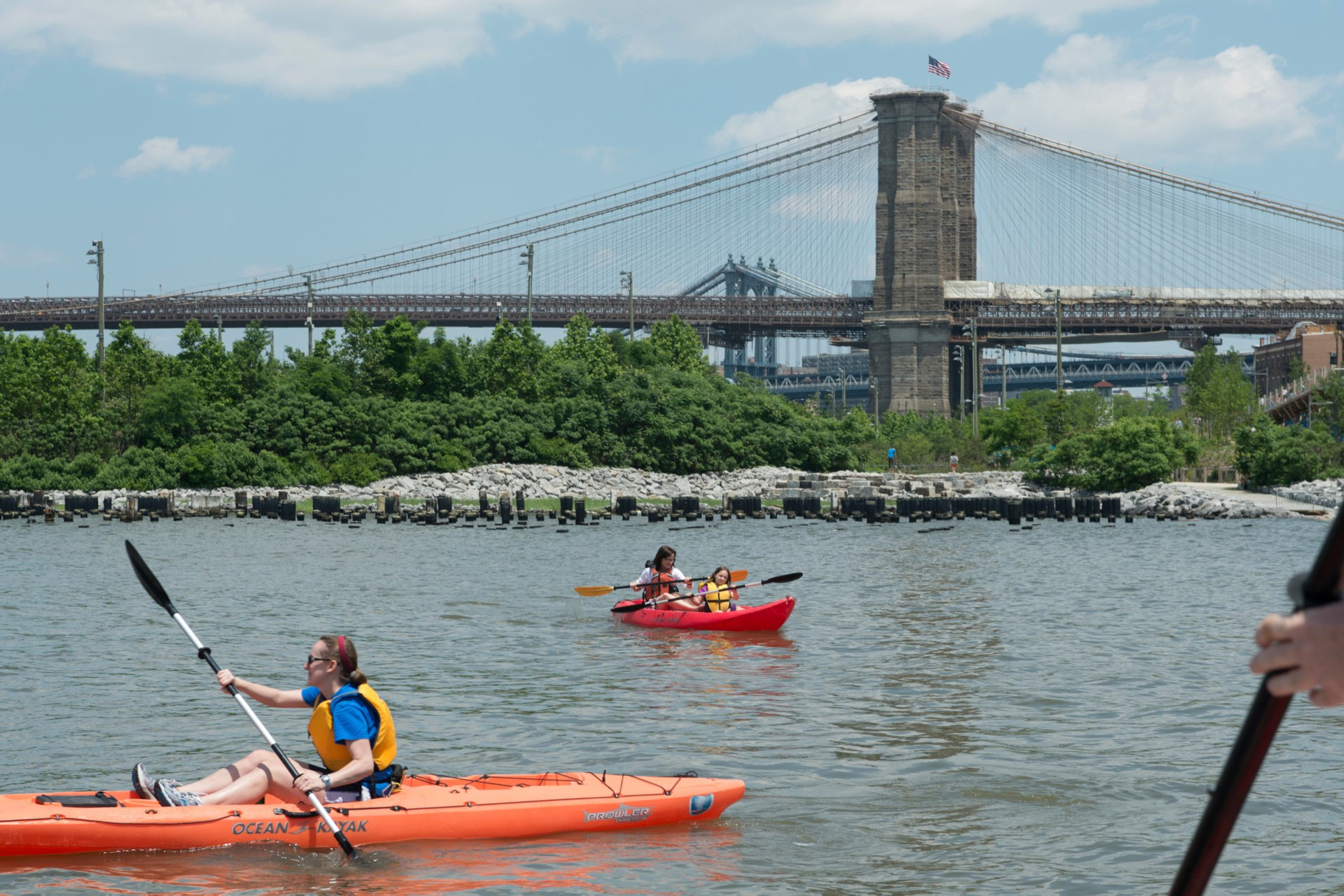 Brooklyn Bridge Park Boathouse Kayaking