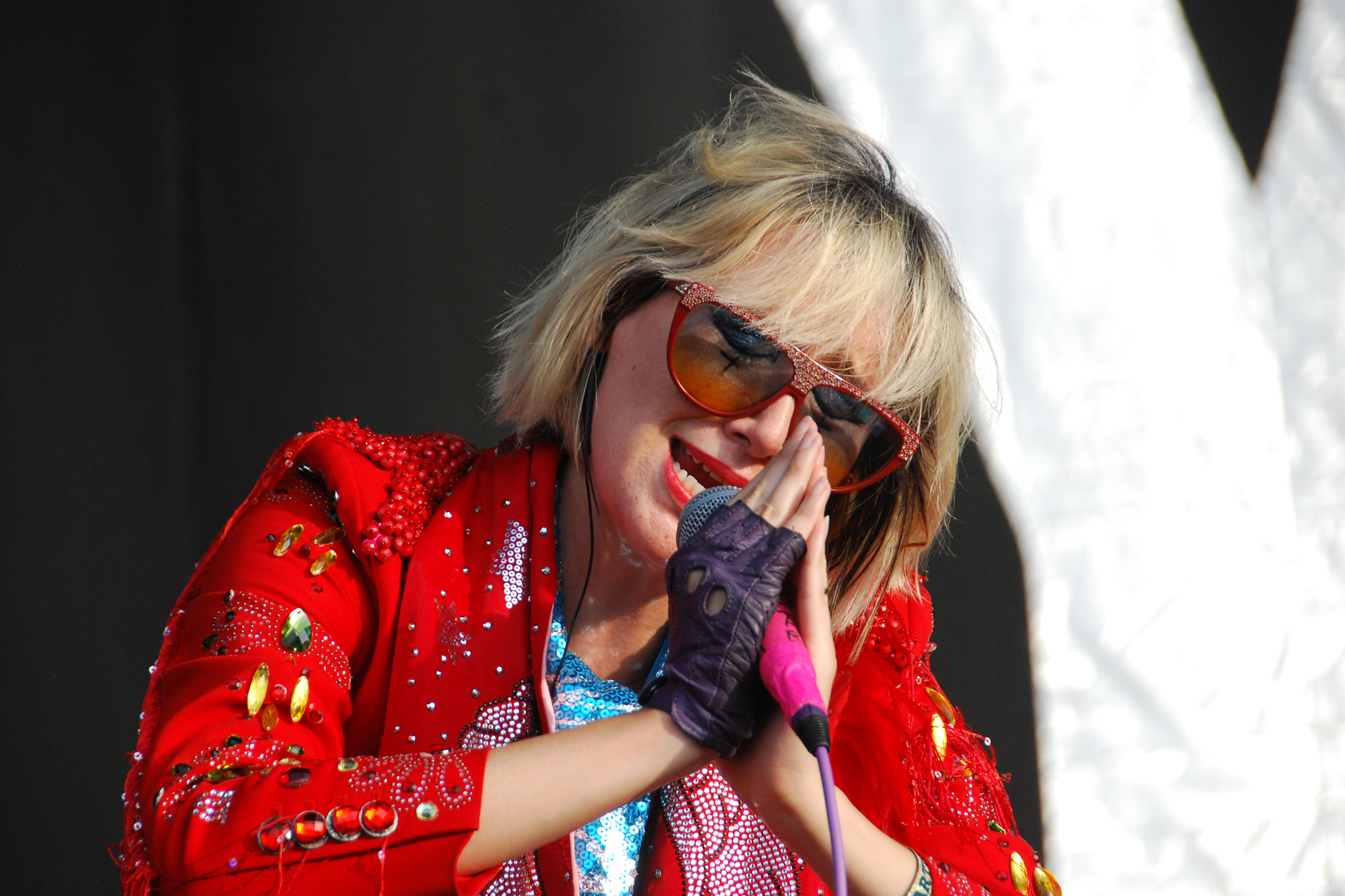 Karen O |  Manderly Bar at The McKittrick Hotel; Sept 9–11. Le Poisson Rouge; Sept 12.