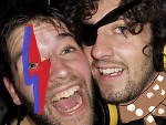 Bowie Fest's Adam Larter and Matthew Highton salute the Starman (with a little help from Microsoft Paint)