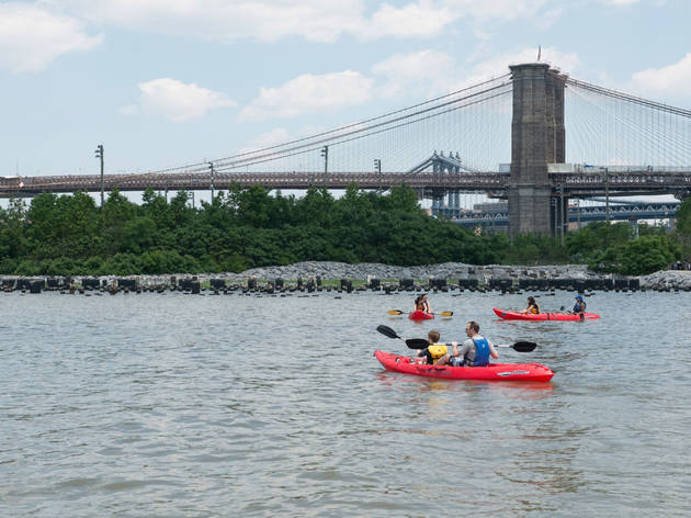 Brooklyn Bridge Park Boathouse Kayaking