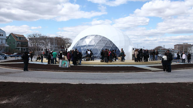 "MoMA PS1's ""VW Dome 2"" in Rockaway Beach"