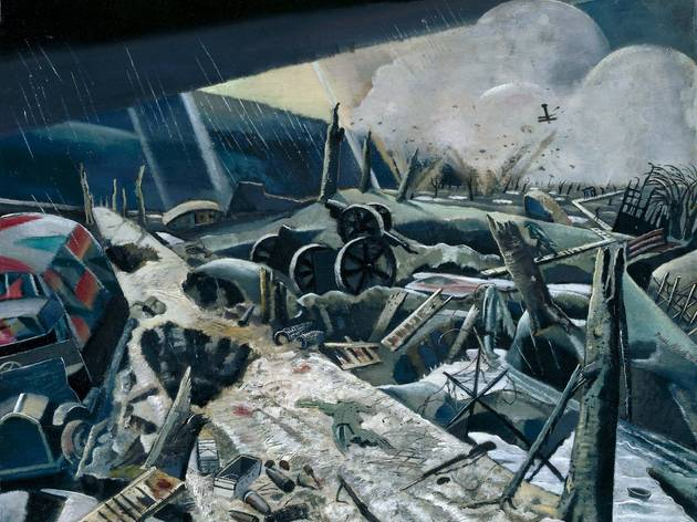 'Void', 1918 (by Paul Nash)
