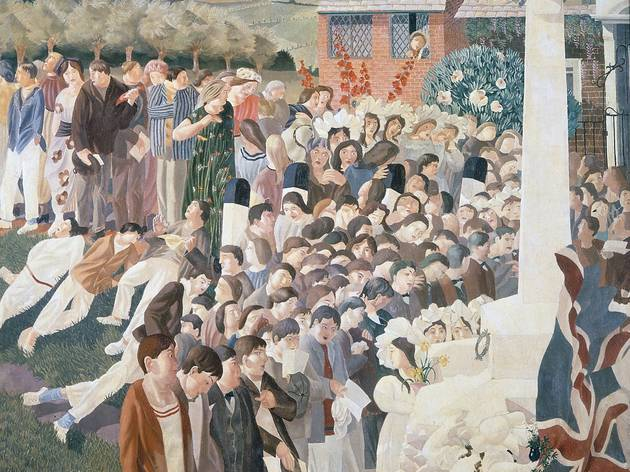 'Cookham War Memorial' (by Stanley Spencer)