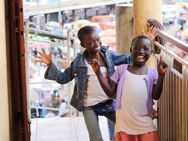 Kids in Kumasi, Ghana
