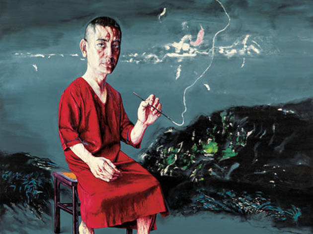 (Zeng Fanzhi, 'Self-portrait', 2009 / © Zeng Fanzhi studio)