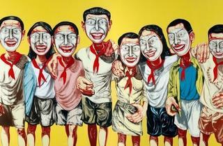 (Zeng Fanzhi, 'Mask Series No.6', 1996 / © Zeng Fanzhi studio )