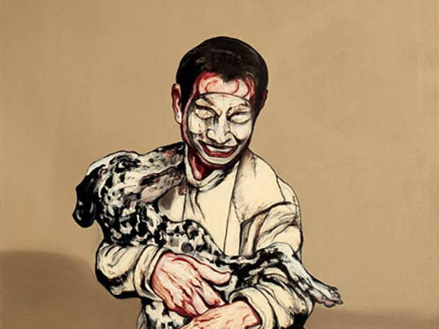 (Zeng Fanzhi, 'Mask Series No.13', 1994 / © Zeng Fanzhi studio)