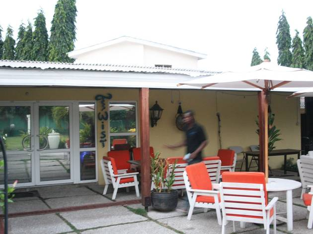 Twist bar, Accra, Ghana