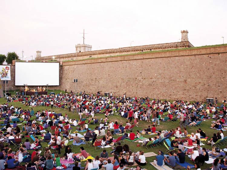 Cinema a l'aire lliure