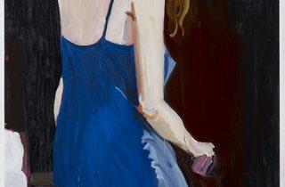 Chantal Joffe ('Jessica', courtesy the artist and Victoria Miro, © Chantal Joffe, photo: Stephen White)