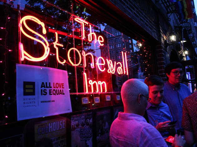Supreme Court Doma decision celebration at Stonewall Inn