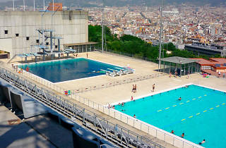 Piscina municipal de montju c sport and fitness in sants for Piscina montjuic barcelona