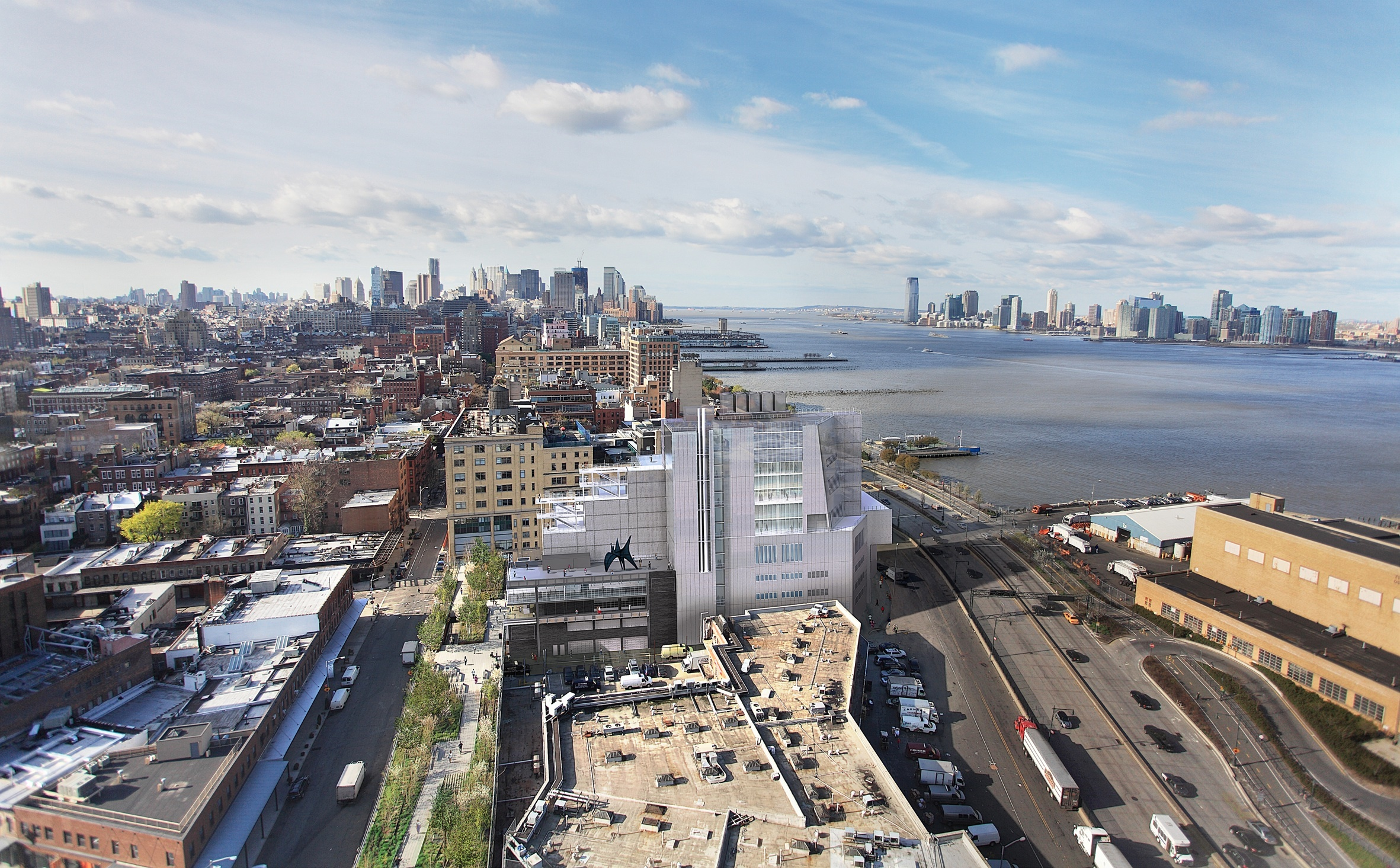 Check out in-construction photos of the Whitney Museum's new building (slide show and video)