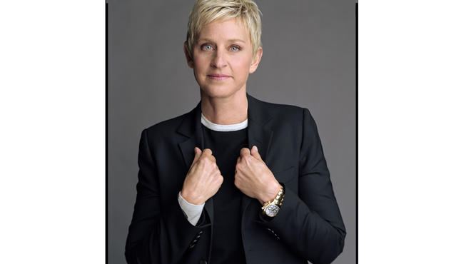 Ellen DeGeneres, from the Out List