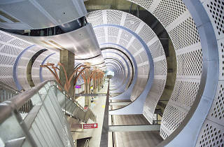 Sheila Klein ­ Underground Girl; Architect: Dworsky Associates (now CannonDworsky) - Hollywood/Highland Station