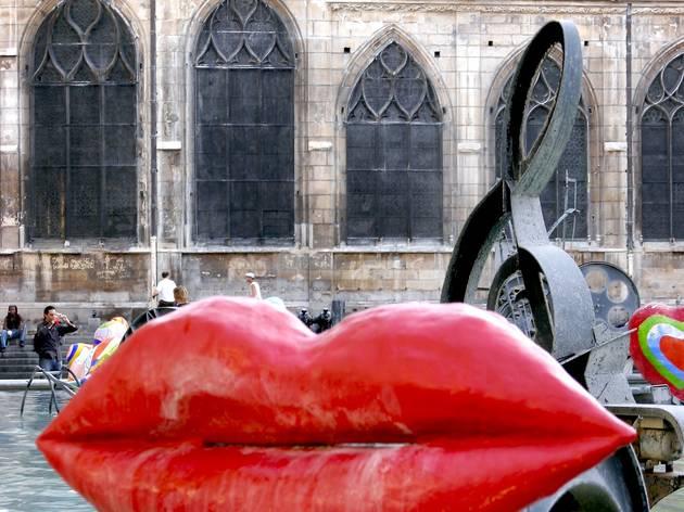 (Niki de Saint Phalle et Jean Tinguely, 'La Fontaine Stravinsky' / © Heloïse Bergman / Time Out   )