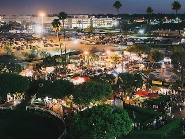 Spend a warm summer night at 626 Night Market